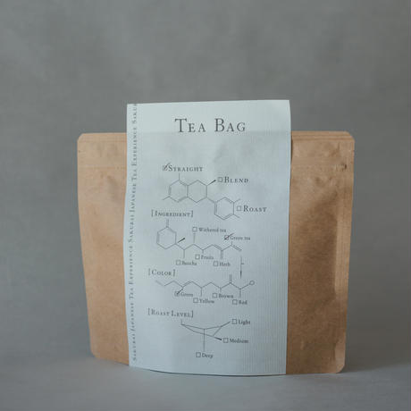 TEA  BAG  STRAIGHT  煎茶