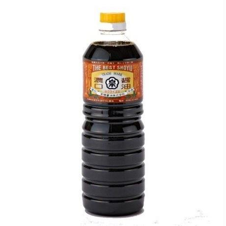 濃口醤油【ゴールド】(1Lペットボトル)