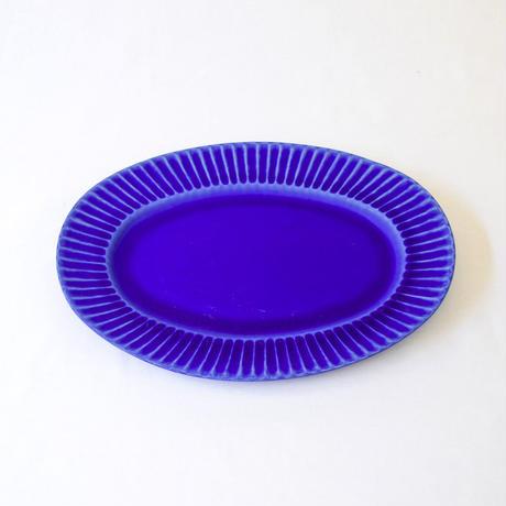 Stripe Oval L(楕円皿)