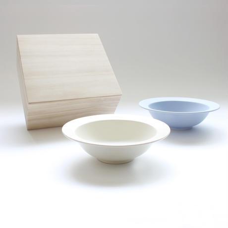 "Sara 7""Bowl ペアボウル(Fujiiro/Cream)木箱入り"
