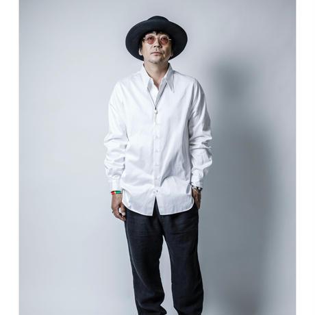 straightシャツ white