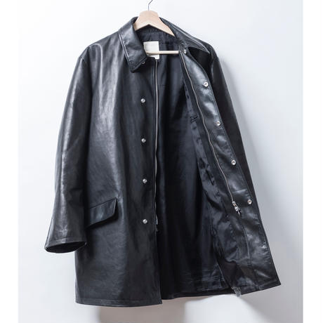 LEATHER COAT ( HORCE LEATHER )
