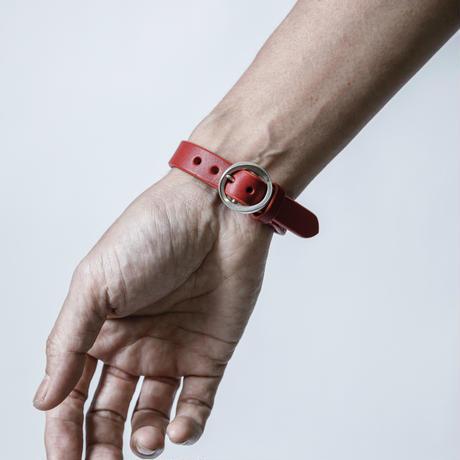 SALABAレザーブレスレット Red