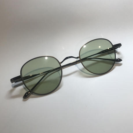 stringサングラス matte brown/green