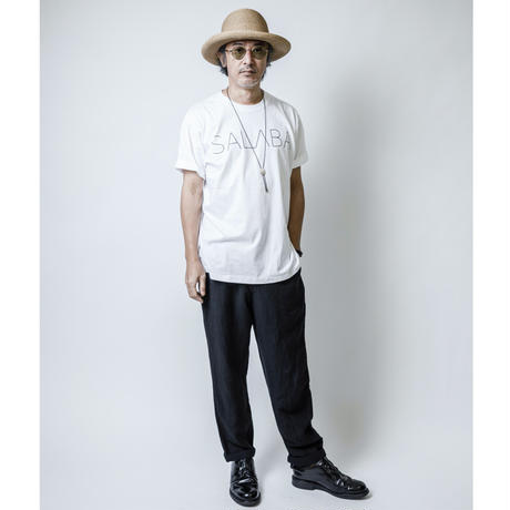 SALABA  ロゴTシャツ White