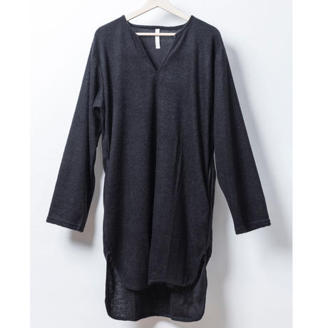 PILE T NECK PULL OVER