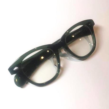 恋するサングラス アンティークグリーンフレーム レンズ:クリア