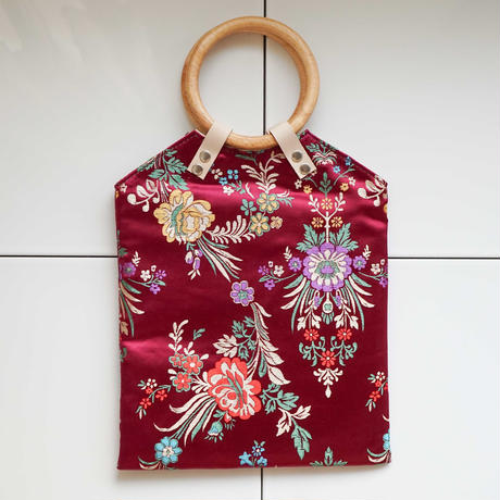 China Pattern Bag -Azuki-
