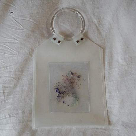 Flower PVC Bag   ●White●1