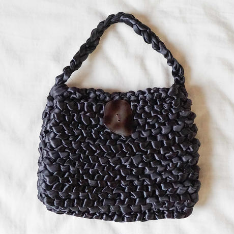 Silk Satin Knit Bag