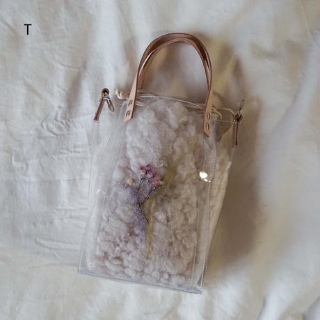 Flower Fur Bag  ●Ivory● 2