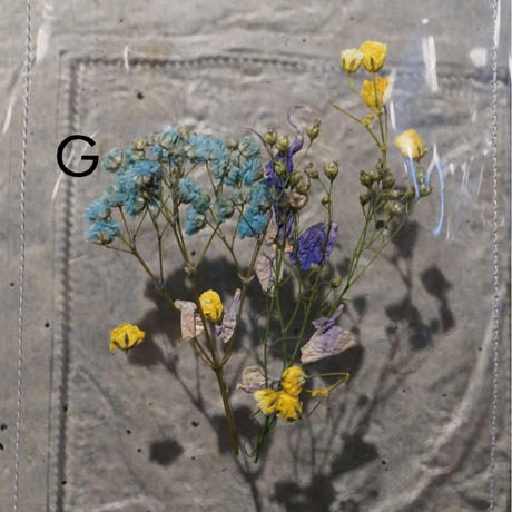 Flower PVC Bag  ●Clear●   -7/6までに発送分-