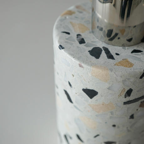 【Select Item】Terrazzo  Soap Dispenser -Light Gray-