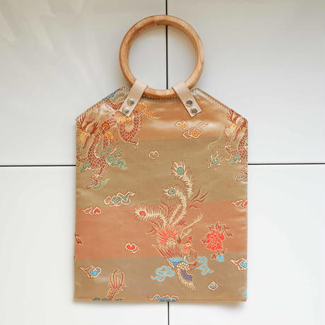 China Pattern Bag -Beige-