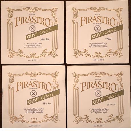 PIRASTRO OLIVE SET