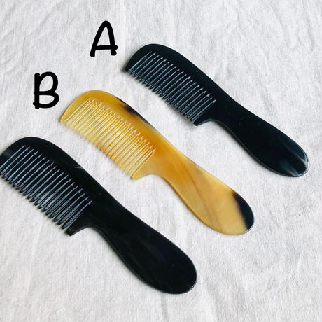 Kostkamm / Comb with handle / 17.5cm / narrow