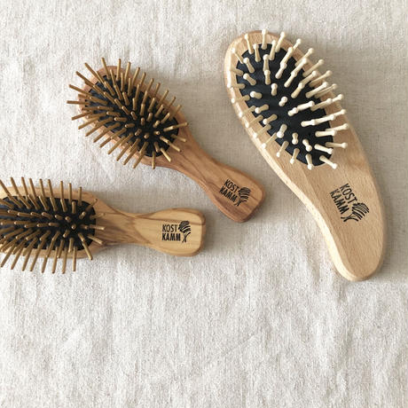 kostkamm  /  waxed beech  wood   hair Brushes / 18.5cm / 4550 / コストカム