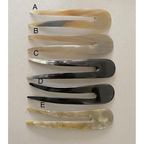 kostkamm / horn decorative comb  / 16 cm