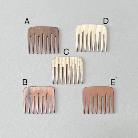 kostkamm / wood decorative comb  / 5cm