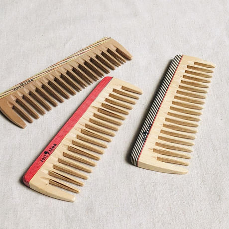 kostkamm /wood   hair comb / 14cm/ コストカム/木製櫛/14cm
