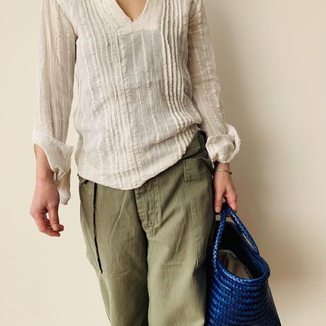 Cilantron  Mercado bag / Small size / blue  /シラントロ /メルカドバッグ /ブルー