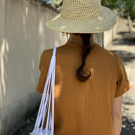 pips / palm knotted hat/ round  / ピップス / ラウンド