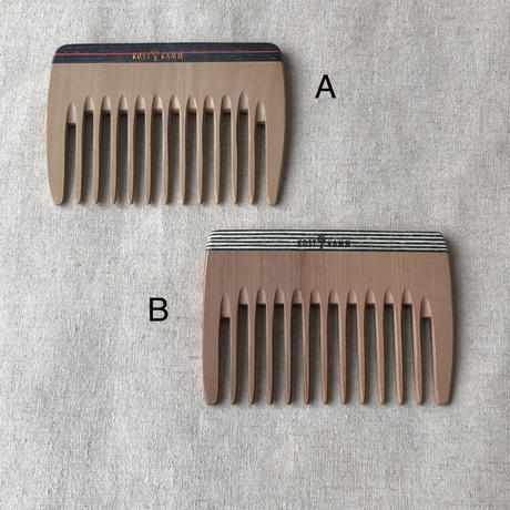 kostkamm /wood   hair comb / extra wide / 10cm / 10b / コストカム/木製櫛/10cm