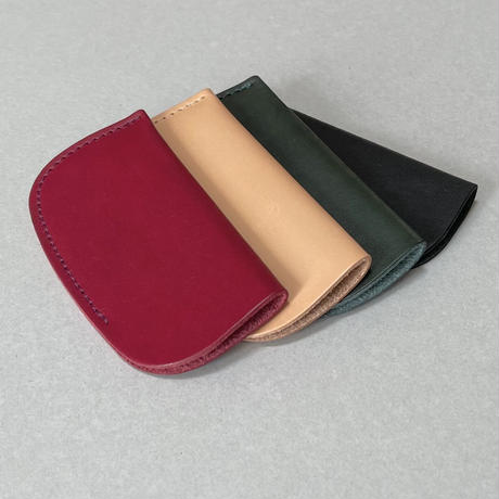 Kostkamm / vegetable Tanned leather case / 20E / 19 • 19H