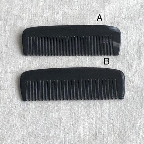 Kostkamm / mini pocket  comb / 8cm / narrow / 200H  / コストカム /水牛櫛