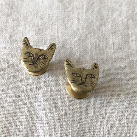 datter industry / cat lapel pin / brass / ダッターインダストリー/真鍮ピン