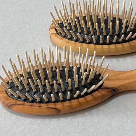 kostkamm /olive wood   hair Brushes / 17.5cm