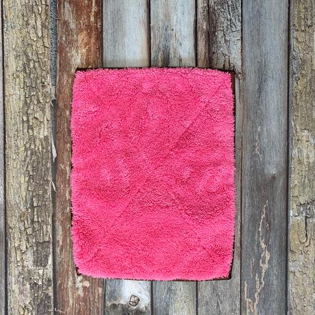 もこもこマイクロファイバークロス ピンク