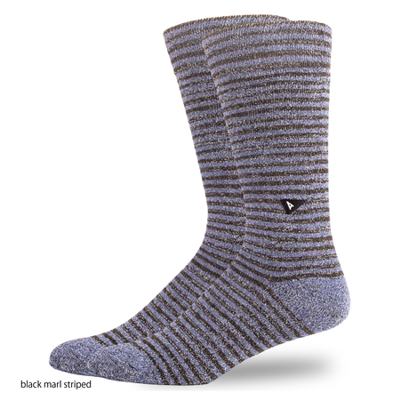 CASUAL MARL STRIPED SOCK-New Collection