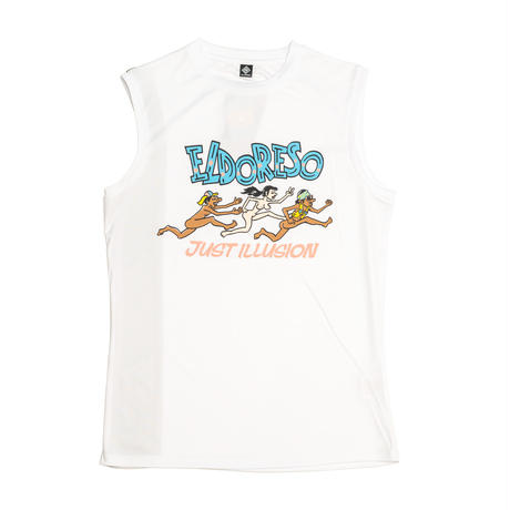 【ELDORESO】Illusion Sleeveless T