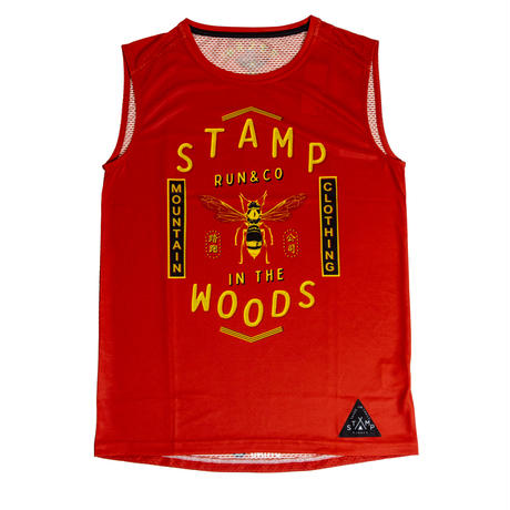 【STAMP】GRAPHIC TANK (Run away from Stinger)