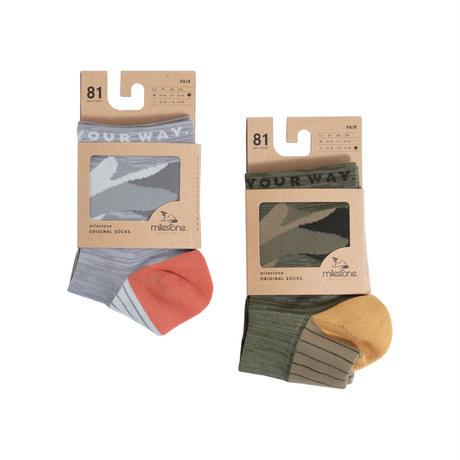 【milestone】milestone original Socks (オリジナルソックス)