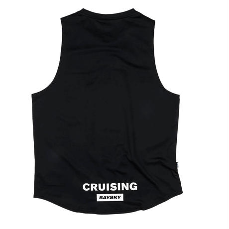 【SAYSKY】 レースシングレット Cruising Combat Tank - BLACK [ユニセックス]