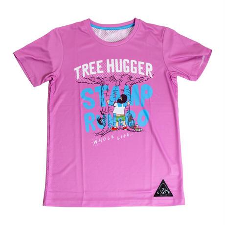【STAMP】GRAPHIC RUN TEE (TREE HUGGER)
