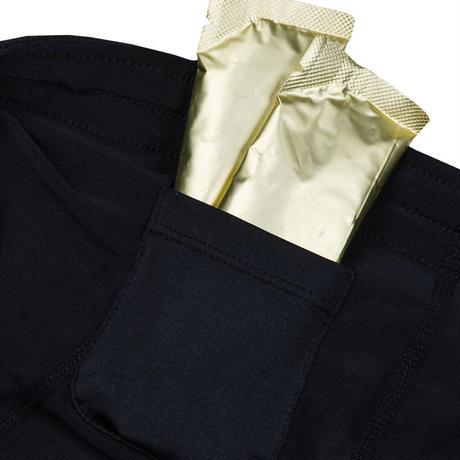 【SAYSKY】ランニングショーツ Universe Pace Shorts - BLACK / OLIVE OIL UNIVERSE [ユニセックス]