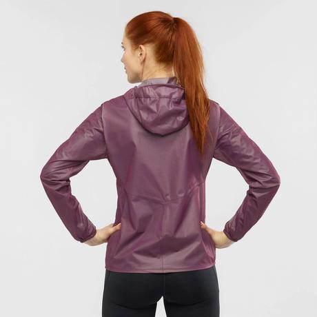 【SALOMON】BONATTI RACE WATERPROOF ウィメンズ - 女性用シェルジャケット