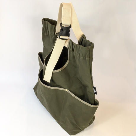 arch strap bag  dark khaki