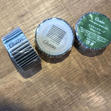 Groenのマスキングテープ 10個セット