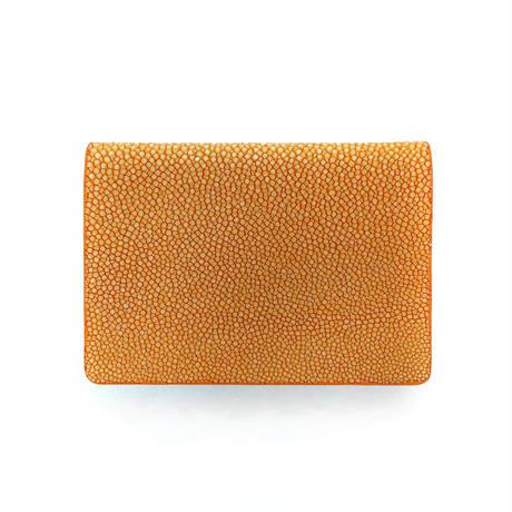 カードケース【オレンジ】名刺入れ