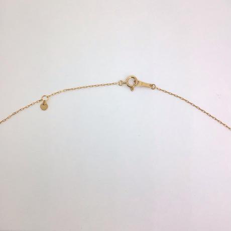 et toi(エトワ)K18ピンクゴールド  ハートネックレス ダイヤ