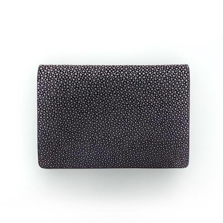 カードケース【紫】名刺入れ