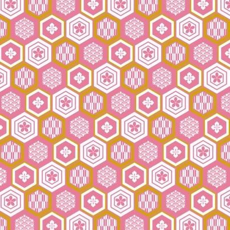単品A3 家紋(桜)