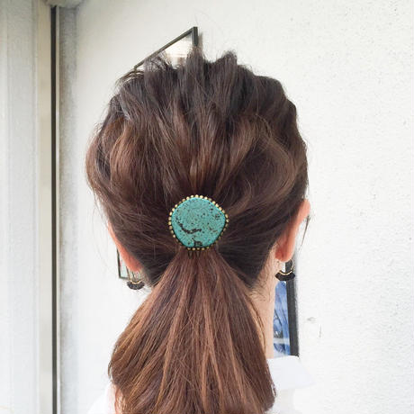 Ritta designs Hair accessory Turquoise hair jewelry