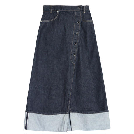 SELVAGE DENIM SKIRT