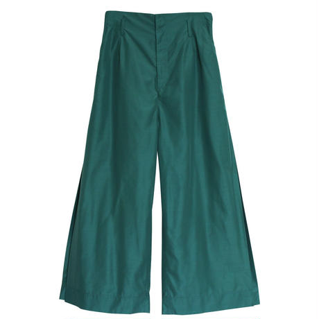 SIDE BOX PLEAT PANTS