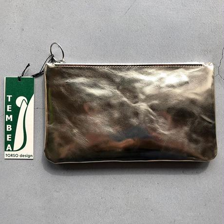 『TEMBEA/COLLECT PURSE GOAT箔 MIRROR SILVER』